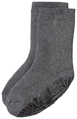 Sterntaler Fliesen Flitzer Soft, Mädchen Socken,Grau (Anthrazit Melange 592), Gr.19/20 (Herstellergröße:  12-18 Monate) -