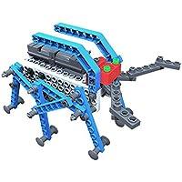 Fumetti mobile costruzione giocattolo, SainSmart Jr. Blocchi team-01 BT Blocchi educativi creativi nuovi, con AR Vista, fantasia scatola di plastica gratuita, silvicolo Skills stelo (Beatle)