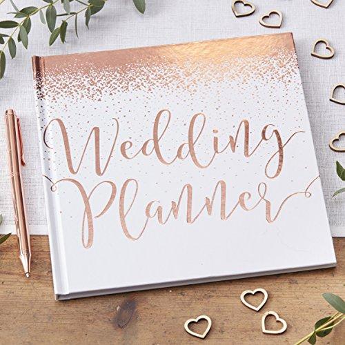 Ginger Ray Hochzeitsplaner, roségold