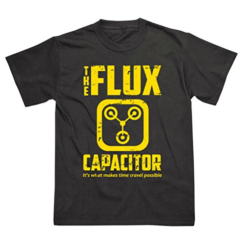 Flux Capacitor Delorean Back to the Future T-Shirt - S to XXL