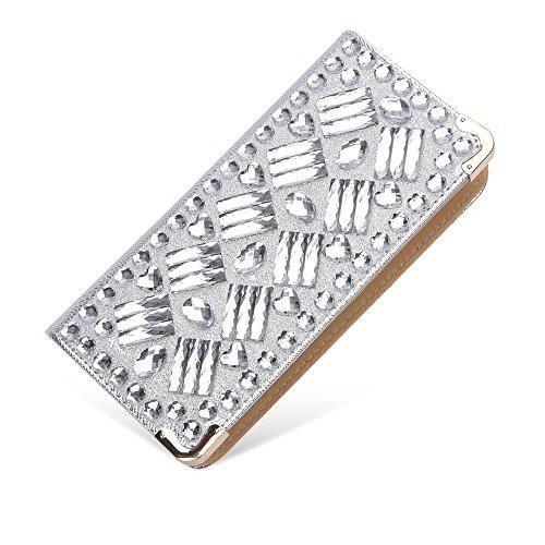 sotica-womens-evening-clutch-party-bag-handbag-phone-bag-purse-silver-rectangle-diamond