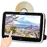 Pumpkin Lecteur DVD Voiture pour Enfant Ecran d'appui tête 10,1 Pouce Inhalation Design Full HD 1080P Soutient USB SD AV Out avec Support de Fixation