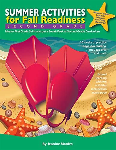 Summer Activities for Fall Readiness: Second Grade (English Edition)