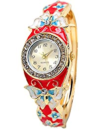 Horse Head Analogue Multicolor Dial Women's Watch (Combo of 5) - Type 03
