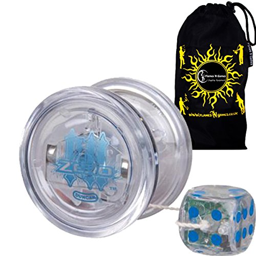 Duncan Freehand Light Zero Medium Intermediate Off-String Counterweight Competition Model Yoyo - Supreme Quality Durable Plastic Medium Yo Yo For 5A Tricks   Travel Bag  Ideal Yo-Yo for Competitions Off All Ages  Colours may vary
