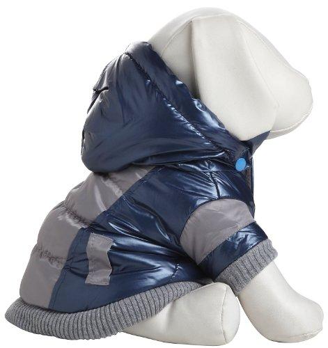 sportlichem Vintage Aspen Pet Ski Jacke