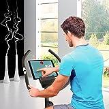 Sportstech ES400 Ergometer Heimtrainer - Smartphone APP Steuerung - 10kg Schwungmasse - Bluetooth - Pulsmesser - Hometrainer mit Magnetbremssystem - Fahrrad-Trainer - Fitness-Bike - Tablethalterung für Sportstech ES400 Ergometer Heimtrainer - Smartphone APP Steuerung - 10kg Schwungmasse - Bluetooth - Pulsmesser - Hometrainer mit Magnetbremssystem - Fahrrad-Trainer - Fitness-Bike - Tablethalterung