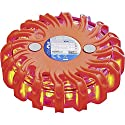 ProPlus 540322 Warnblinkleuchte mit Magnet und 16LEDs, Ø nur 9,5cm, Notfall Warnblitzer Warnsignal Blinklicht