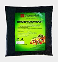 Vermicompost is best organic fertilizer. Fully decomposed, made by earthworm. It does not contain any un-fermented leaves or grass.