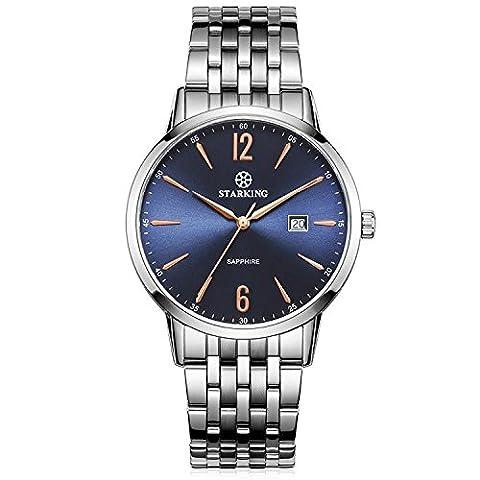 Starking pour homme Bm0976ss17analogique Mouvement à quartz de montre en