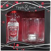 Smirnoff Vodka Tipple & Treat Glass & Chocolate Gift Pack