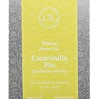 Comptoirs Richard Infusion Camomille Bio 15 Sachets 15 g - Lot de 2