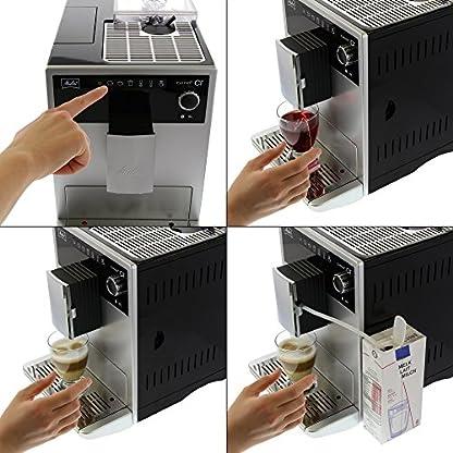 Melitta-Caffeo-CI-Kaffeevollautomat-Hochglanz-Lackierung-in-Edelstahloptik