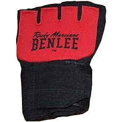 BENLEE Rocky Marciano Neoprenbandage Gelglo, Schwarz/Rot, XL, 198033