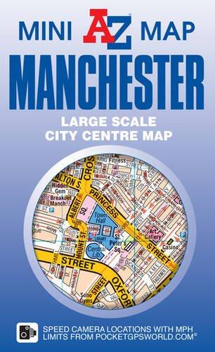 Manchester Mini Map por Geographers' A-Z Map Co Ltd
