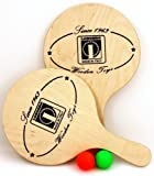 Londero Beachball Set aus skandinavischem Birken - Holz, Qualität Made in Italy