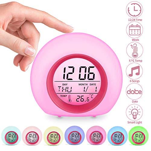 Jeteven Reloj Despertador Digital