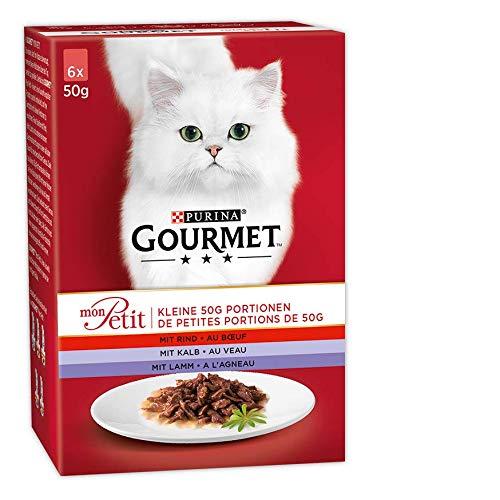 Gourmet Mon Petit Katzennassfutt...