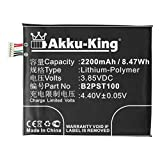 Akku-King Akku ersetzt HTC B2PST100 - Li-Polymer 2200mAh - für HTC Desire 530, 530 4G, 555, 555 4G LTE, 630, 630 Dual SIM, 630 Dual SIM TD-LTE, 650