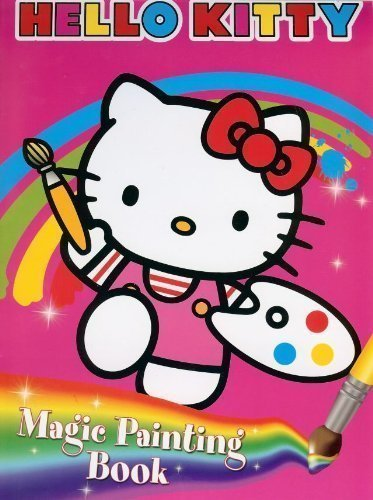 Hello Kitty: Magic Painting Colouring Book by Hello Kitty