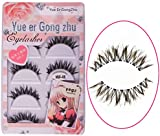 BESTIM INCUK 5 Pairs Long Thick Cross Fake Eye Lash False Eyelashes Extension Makeup
