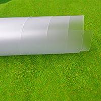 teraysun PVC transparente Frosted lámina de plástico 300x 200x 0,3mm DIY hecho a mano material modelo de mesa de arena materiales de construcción