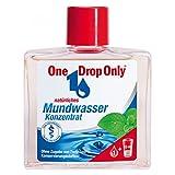 One Drop Only Mundwasser Konzentrat/Antibakterielle Mundspülung/Für umfassendere Mundhygiene/5er Pack (5 x 25 ml)/Mundwasser