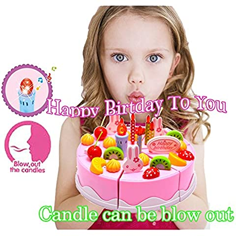 Cumpleaños Canto Cake Toy - BigNoseDeer Jugar Party Cake con música Canta