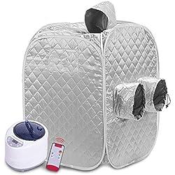 JBP Max Sauna Haushalt Portable Home Ganzkörper Dampf Saunabox Familie Dampf Raum Bequemen Speicher,B
