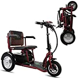 WARM ROOM 3-Wheeled Electric Car, Folding Portable Elderly/Disabled Outdoor Leisure Mobility Scooter Environmental Protection (12AH/20AH)