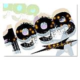 DigitalOase Einladungskarten 1998 20. Geburtstag 20. Jubiläum Geburtstagskarten 2 Klappkarten 2 Kuverts Format DIN A6 #WALK