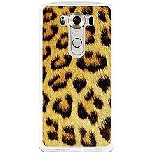 BeCool - Funda Gel Flexible LG V10 Animal Print Leopardo Carcasa Case Silicona TPU Suave