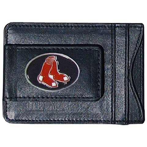 Boston Red Sox Leather Money Clip Wallet by Siskiyou