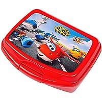 Preisvergleich für Super Wings - Kinder Box Vesper Dose Brotdose 16 x 13 x 6 cm