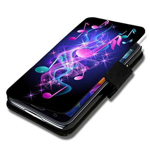 Book Style Flip Handy Tasche Case Schutz Hülle Schale Motiv Foto Etui für HTC Desire 500 - X9 Design3