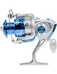 Carrete De Pesca CS3000 Azul De Agua Dulce Salada De Hilatura Para Pesca