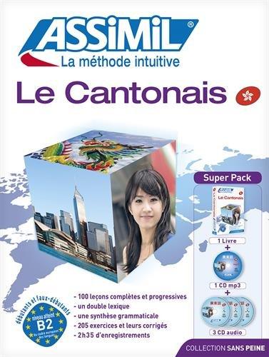 Superpack cantonais (livre+4CD audio+1CD mp3)