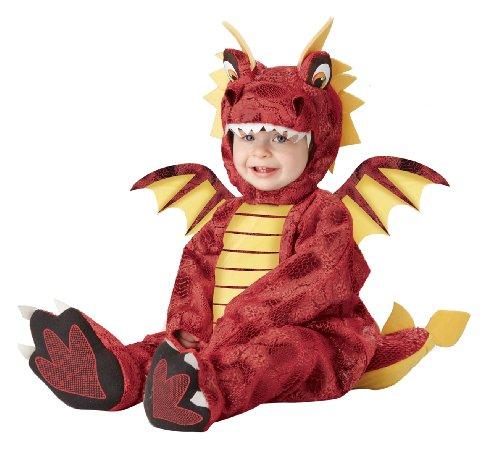 Disfraz de dragón de fuego para bebé