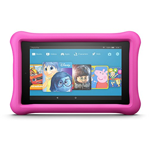 "Price comparison product image Fire HD 8 Kids Edition Tablet, 8"" Display, 32 GB, Pink Kid-Proof Case"