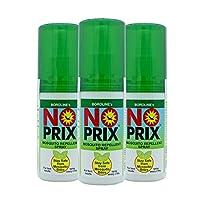 Boroline's Noprix Personal Mosquito Repellent Spray 100 ml Pack Of 3