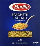 Barilla - Spaghetti Tagliati, Pasta di Semola di Grano Duro, n.38 - 500 g