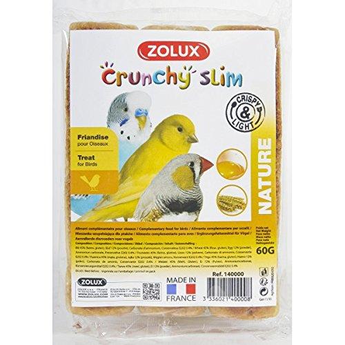 Zolux Echaudés Nutrislim Nature 60 g pour oiseaux