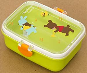 green animals bento box lunch box kawaii home kitchen. Black Bedroom Furniture Sets. Home Design Ideas
