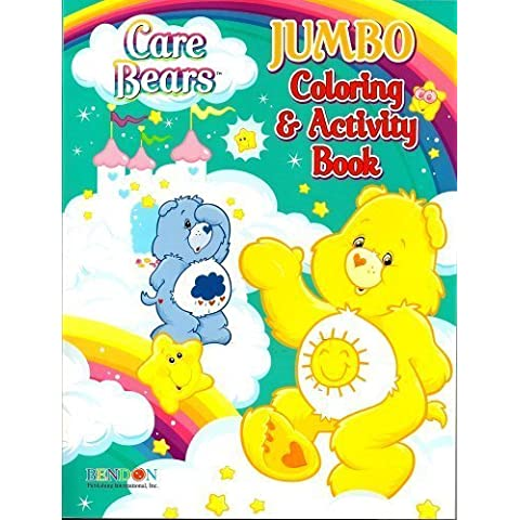Care Bears Jumbo Coloring & Activity Book ~ Funshine and Grumpy (96 Pages) by Bendon Publishing Intl - Jumbo Care Bears