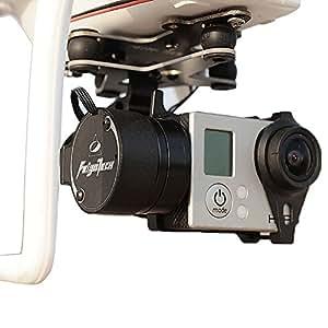 """Neewer ® FeiYu G3 2 axes avec Phantom Brushless Rotule d'appareil photo avec support de fixation compatible GoPro 3/3/4 Design de mise à niveau du logiciel pour modélisme hélicoptère Multirotor """"aéronef"""