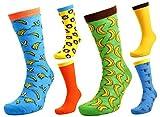 Tom Franks 6 pares para hombre Mono & Plátanos Calcetines Con Personaje 7-11