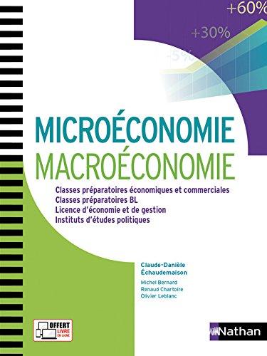 Microconomie et Macroconomie aux concours des grandes coles