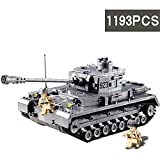 TTGE Tankaufbau Modell- Bausteine Spielzeug Geeignet für Personen über 6 Jahre,1193pcs