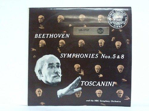 Beethoven Symphonies Nos. 5 & 8 - 1 Langspielplatte