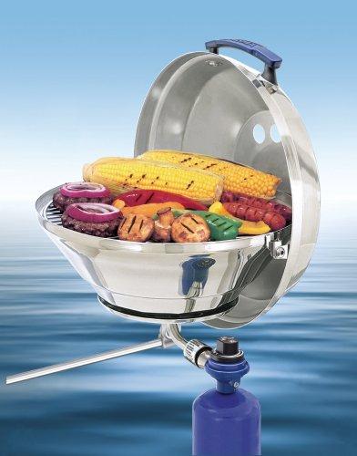 Magma Marine Wasserkocher A10-205, Gas Grill, Original Größe 38,1cm, Edelstahl, verstellbar Steuerventil -